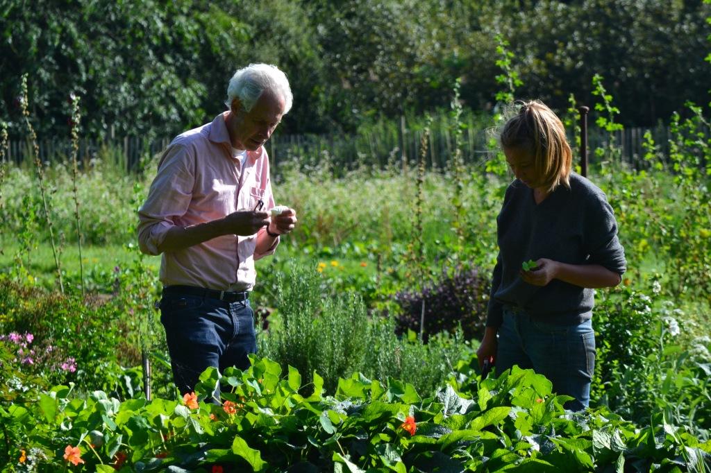 Bauern bei der Arbeit im Feld