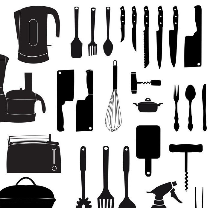 Sachen die in der Küche gebraucht werden
