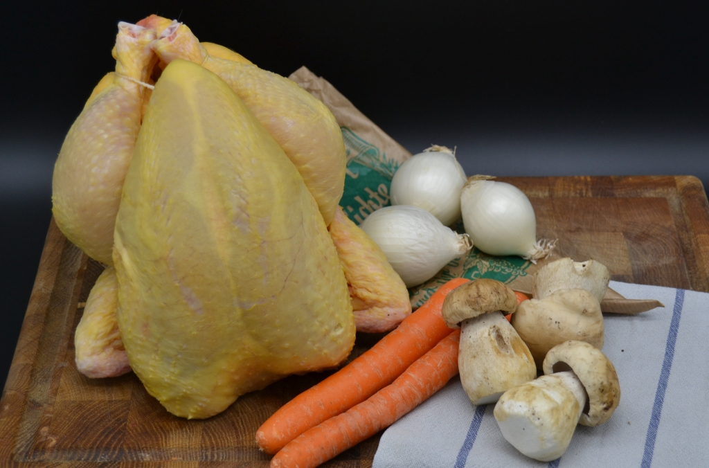 Kochen ist Emotion Hühnerbrühe Zutaten